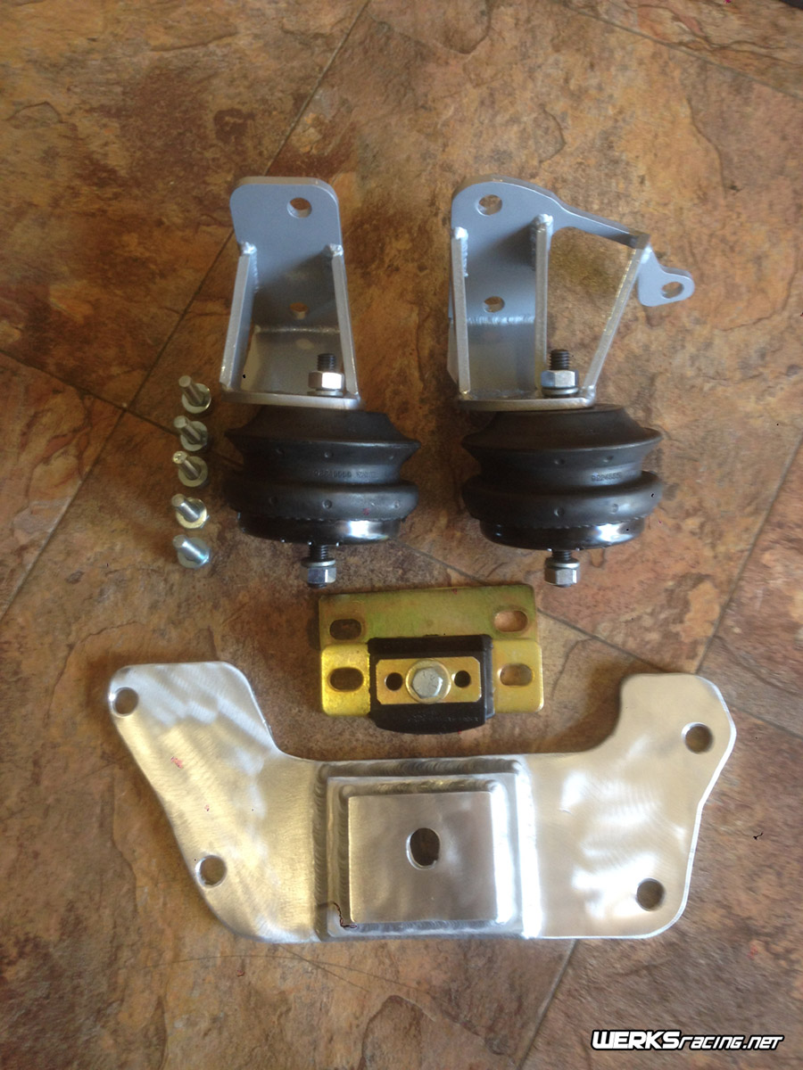 WERKSracing Kappa/LSx Motor and Transmission Mount Kit