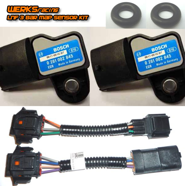 WERKSracing 3 bar LNF map sensor kit