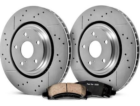 PowerStop® - 1-Click Front Brake Kit - Cadillac ATS