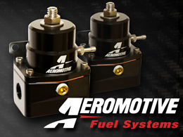 Aeromotive Adjustable Fuel Pressure Regulator - BLACK