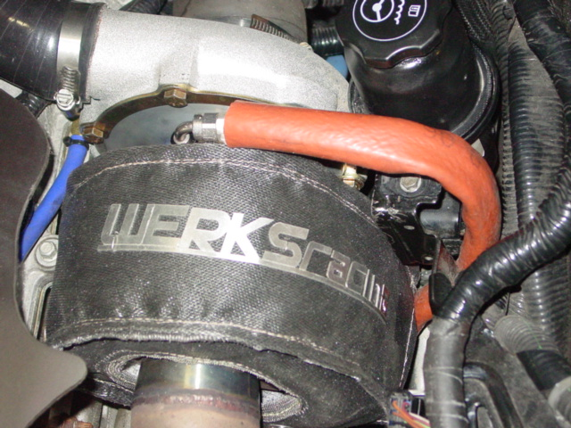 WERKS turbo Heat Shield Blanket