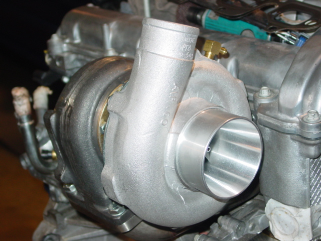 "PTE 5558 CEA ""Billet"" Dual Ball Bearing Turbocharger"