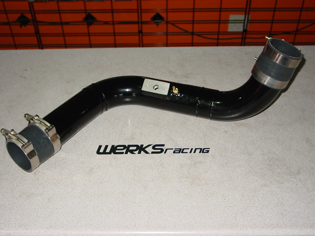 "WERKSracing LNF Balt/HHR SS 2.75"" Lower IC Pipe"