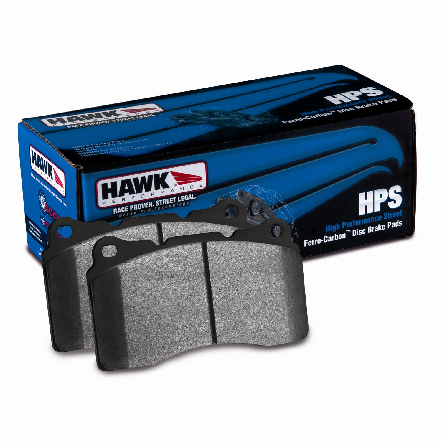 Hawk Solstice HPS Rear Brake Pads