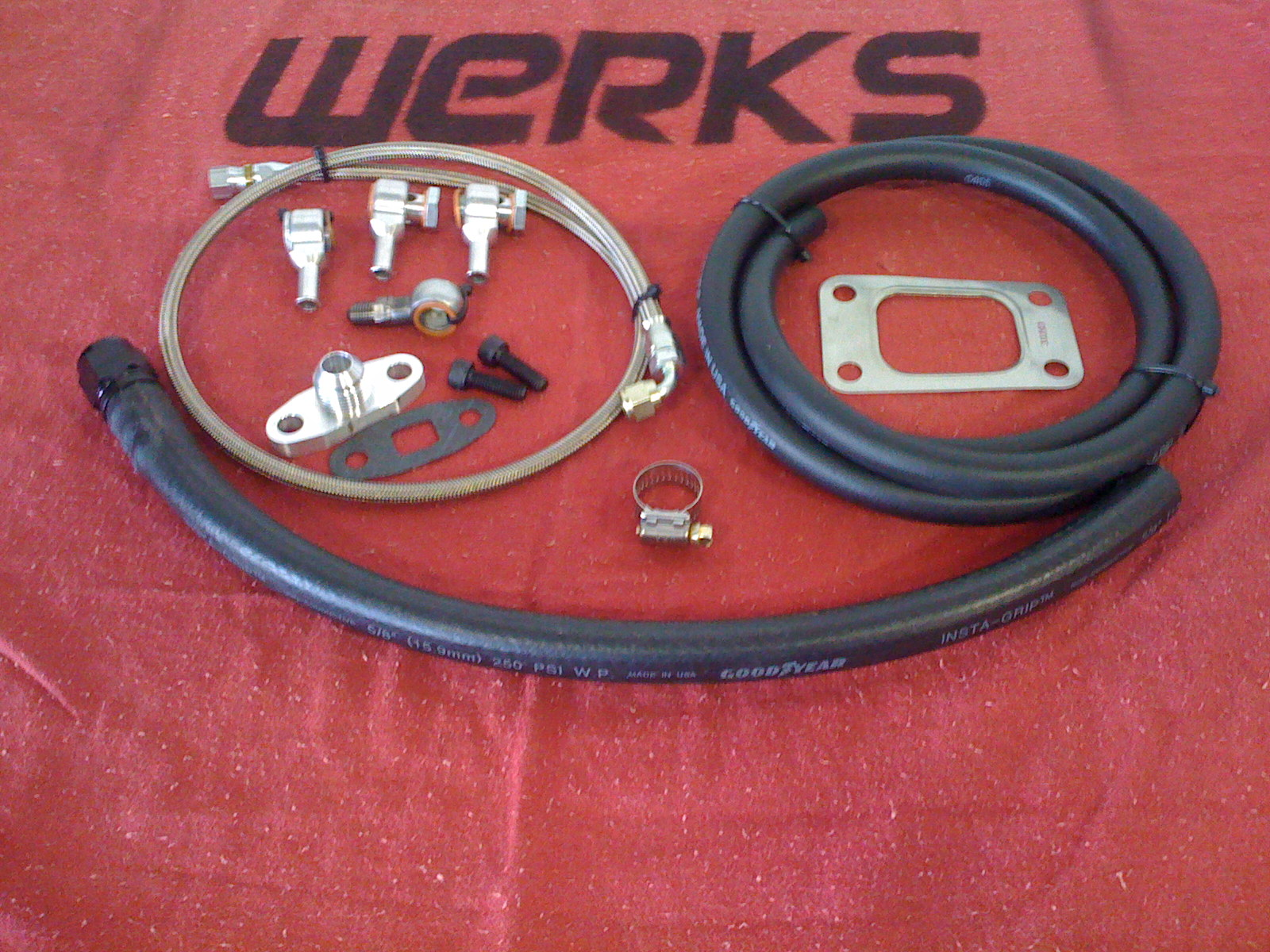 WERKS 2.0T turbo Installation Kit