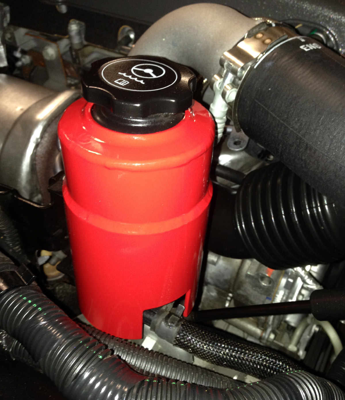 New product - WRP Kappa Power Steering Reservoir Cover ...