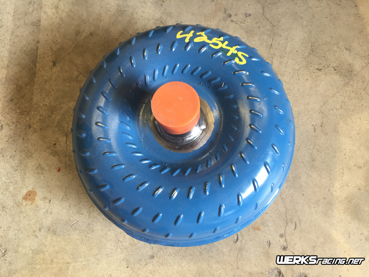 WERKSracing 5L40e High Stall Speed Torque Converter
