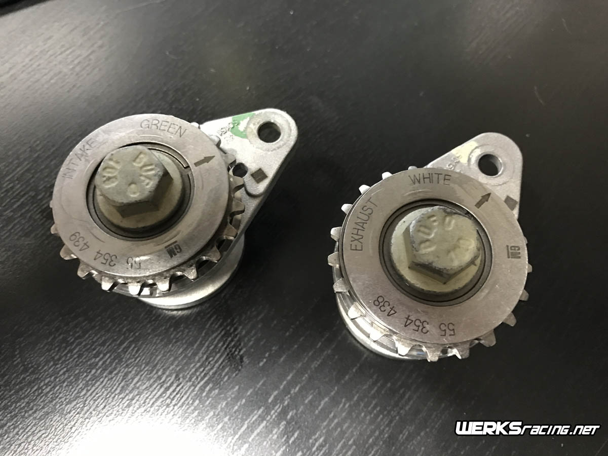 WERKSracing Ecotec Balance Shaft Delete Sprockets