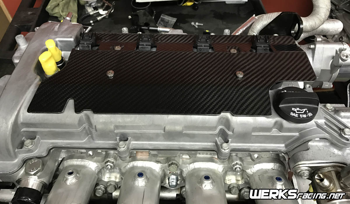 Engine Performance Autowerks Gm Ecotec Carbon Fiber Coil Cover