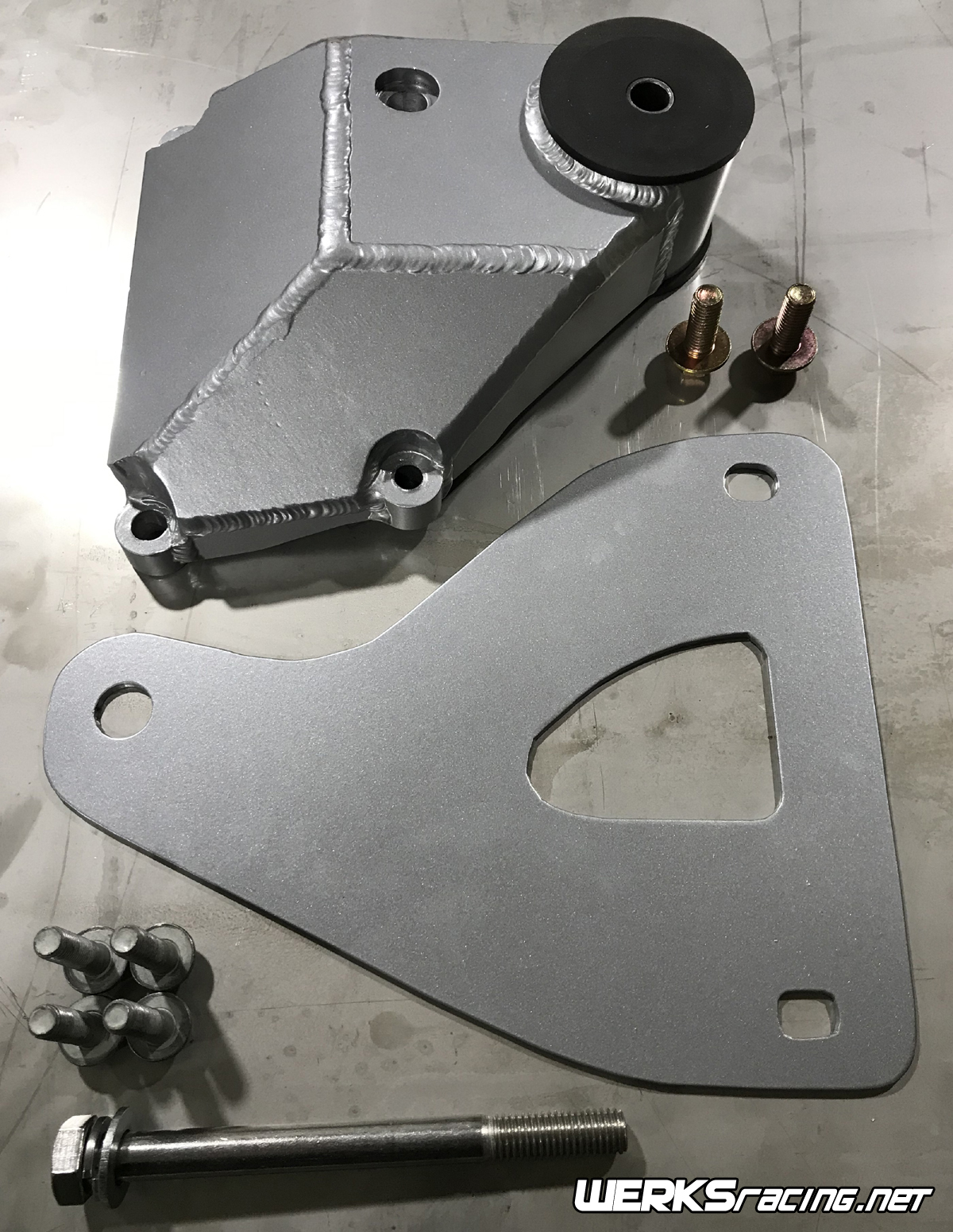 WERKSracing Kappa/LSx Fabricated Rear Differential Mount Kit