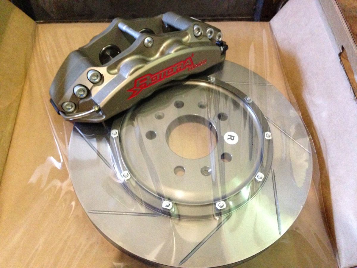 "WERKS/Rotora Sol/SKY/Opel GT 13"" 4 Piston Front Big brake kit"