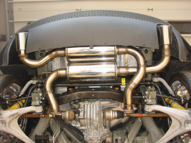 "Werks 2.5"" True Dual Exhaust System (Installed)"