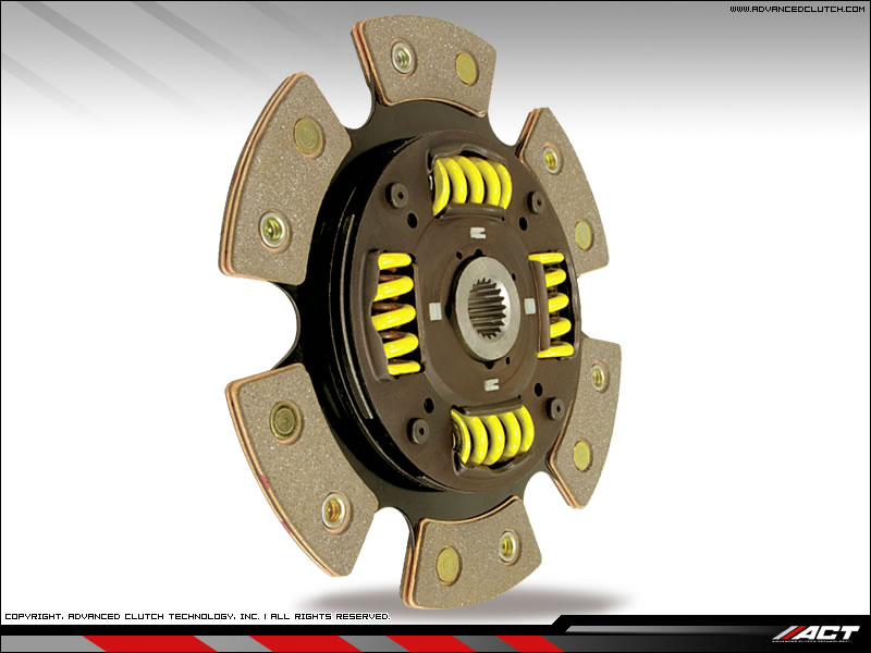 ACT SRT-4 6 Puck Sprung Hub Clutch disc