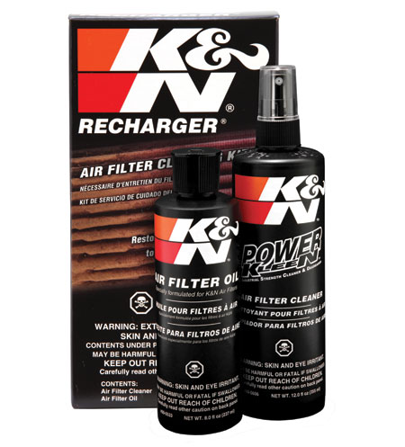 K&N filter recharger cleaning kit