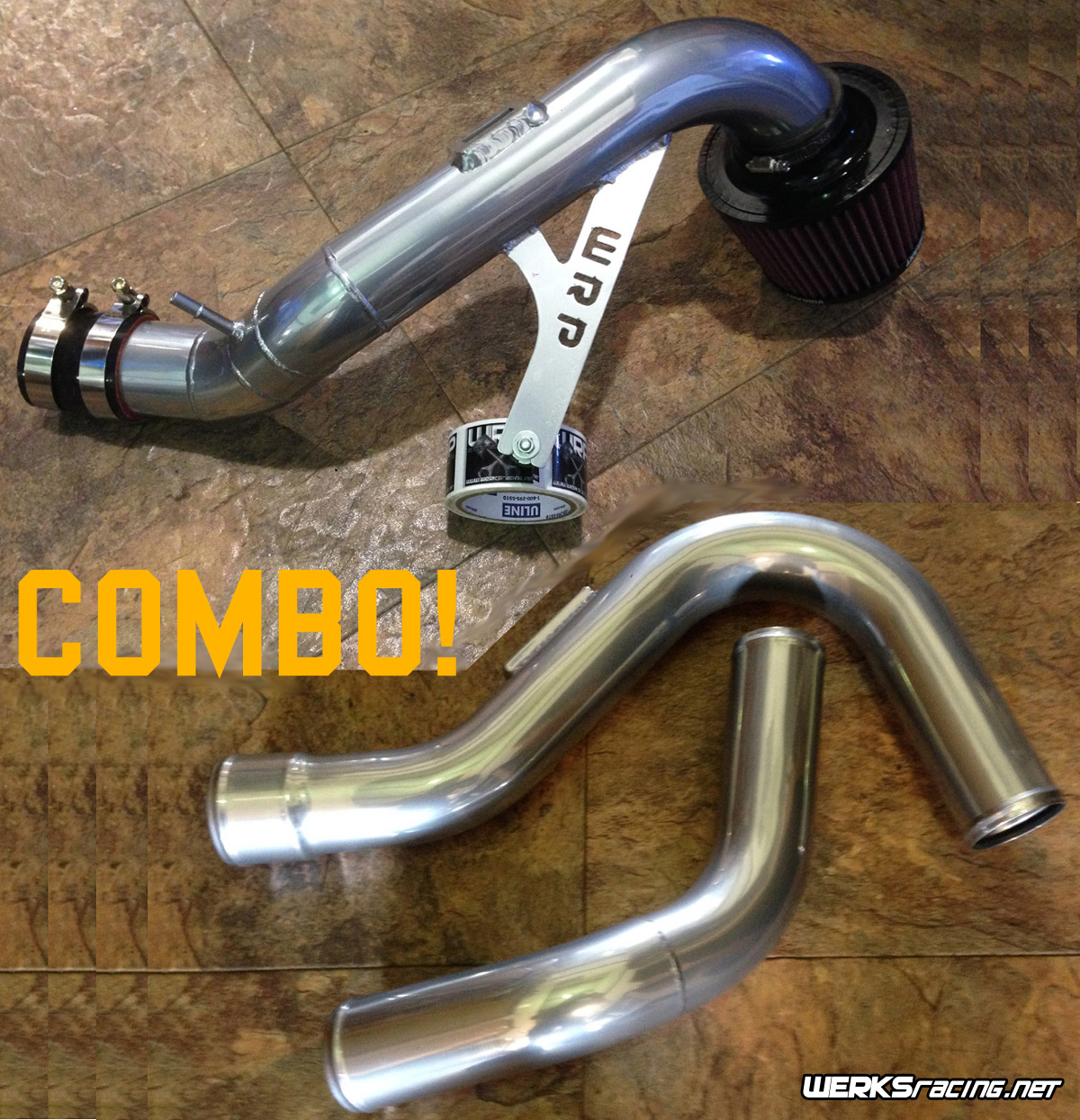 WERKSracing LNF SOL/SKY/Opel GT IC Pipe and Intake Combo