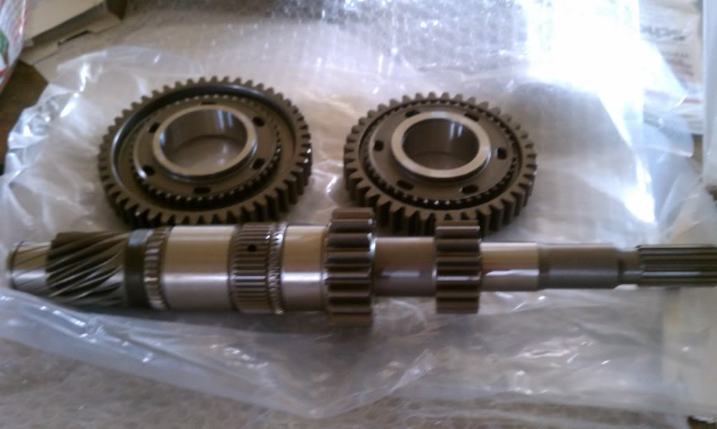 Kevin Warren SRT-4 Billet Input shaft with straight 1/2 gears